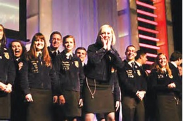 FFA opened membership to girls, making it possible for them to hold office and participate in competitive events at regional and national levels.