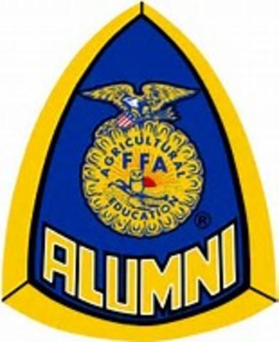 The National FFA Alumni Association chartered as an affiliate of the National FFA Organization.