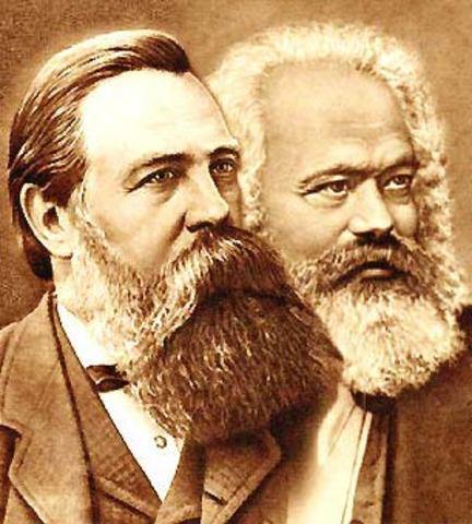Karl Marx  y Frederic Engels