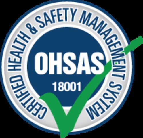 Se crea la norma OHSAS 18001 en base a la ISO 14001 e ISO 9001