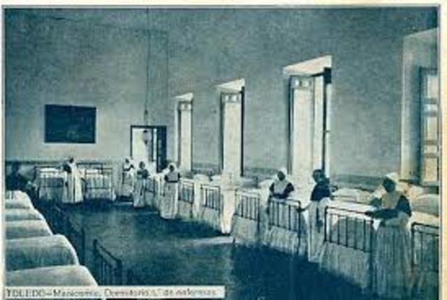 Se fundó en Toledo otro Hospital de Inocentes y locos, promovido por el Nuncio y canónigo de la Catedral don Francisco Ortiz.