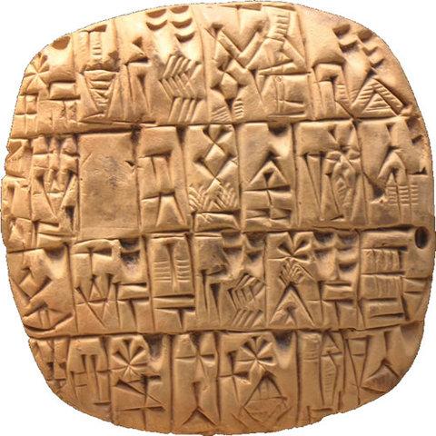 Adoption of Cuneiform Writing