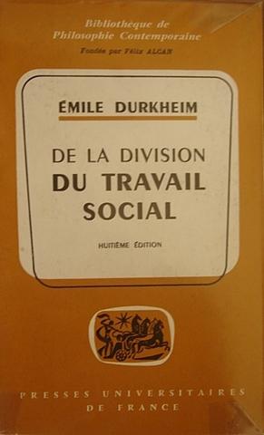 Durkheim - Da Divisão do Trabalho Social