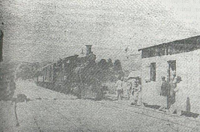 A ferrovia chega a São Bento