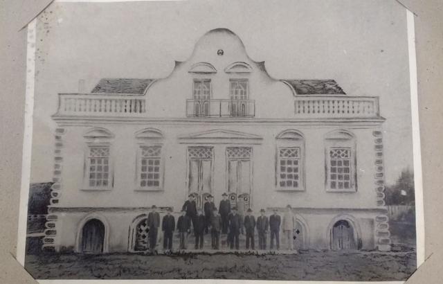 Construção da prefeitura (antiga)