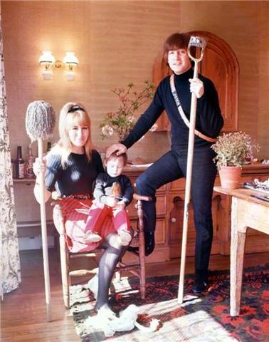 John and Cynthia divorced