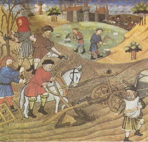 Edad media: derecho laboral (siglo V y el XV)