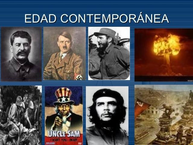 Edad contemporánea (siglo XVIII-....)