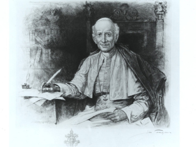 León XIII dirige una carta a los obispos  a favor de los trabajadores