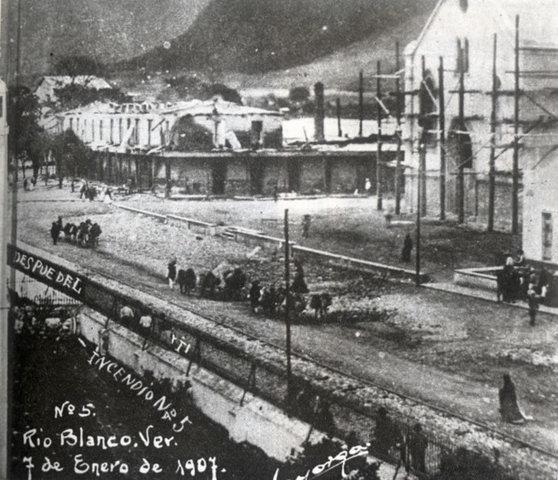 La huelga de Río Blanco, Veracruz