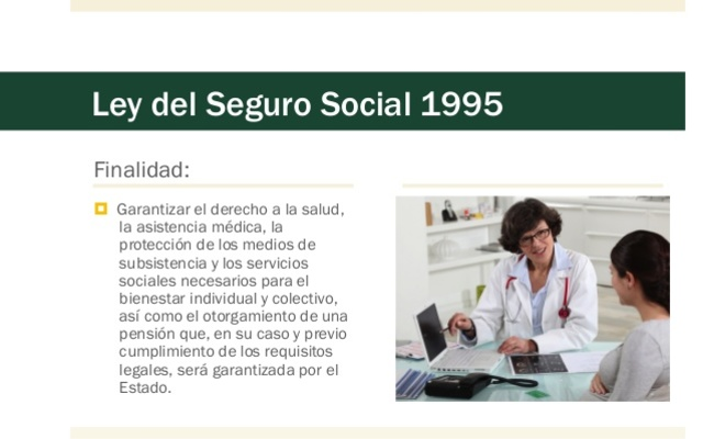 Nueva Ley del Seguro Social 1995
