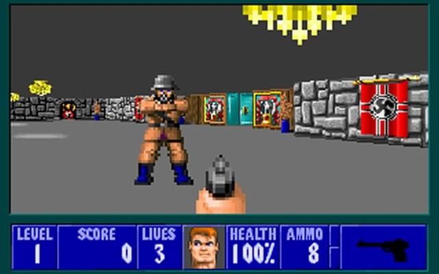 Se lanza al mercado Wolfenstein 3D