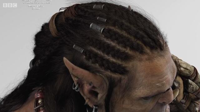Primer render de cabello dinámico