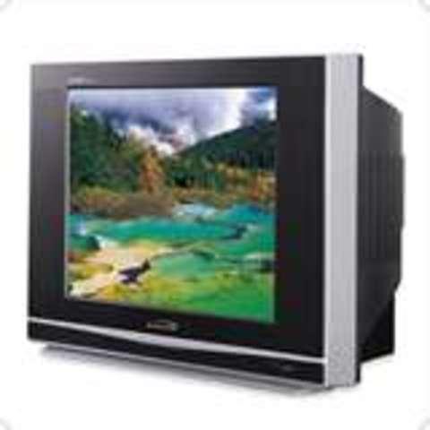 La tele en color. Es increible; como la vida misma