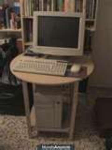 El ordenador ocupa medio cuarto
