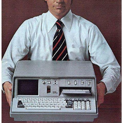 La primera computadora portatíl