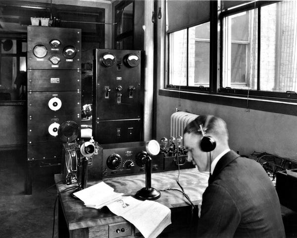 First Radio Station