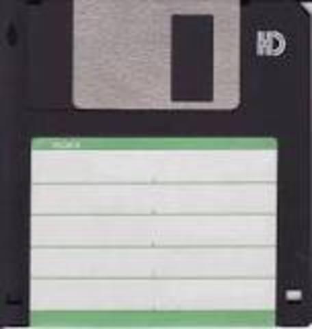 Floppy Disk Created