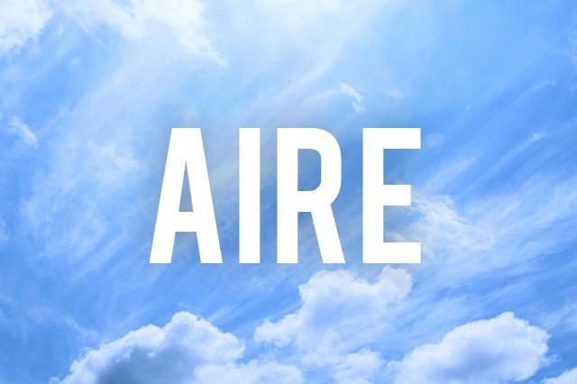 Componentes del aire