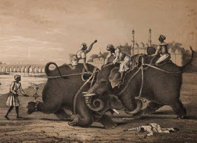 British overcame French and took control of India