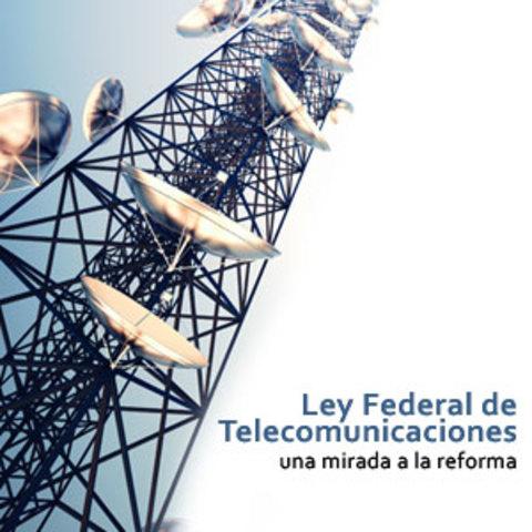 Ley Federal de TELECOM.
