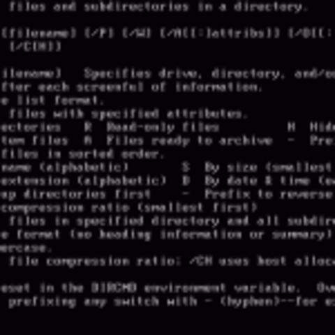 Nacimiento del MS-DOS