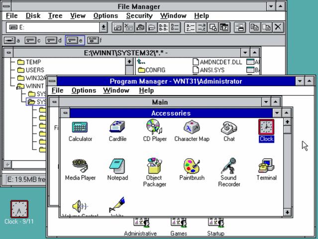 Windows NT (1993)