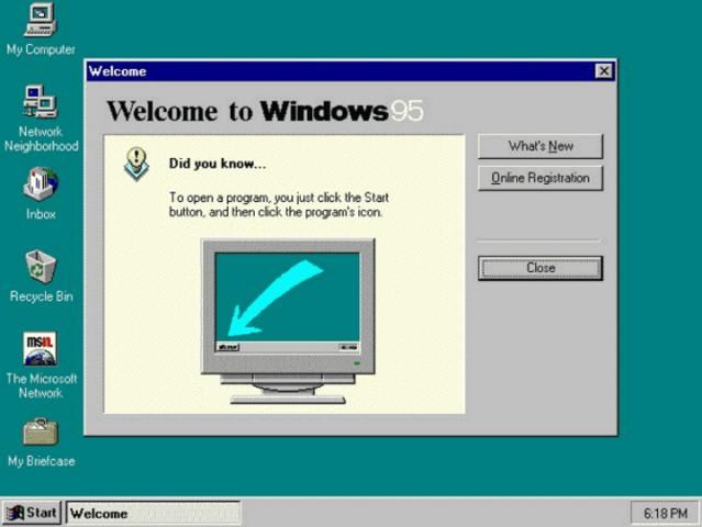Windows 95 (1994)