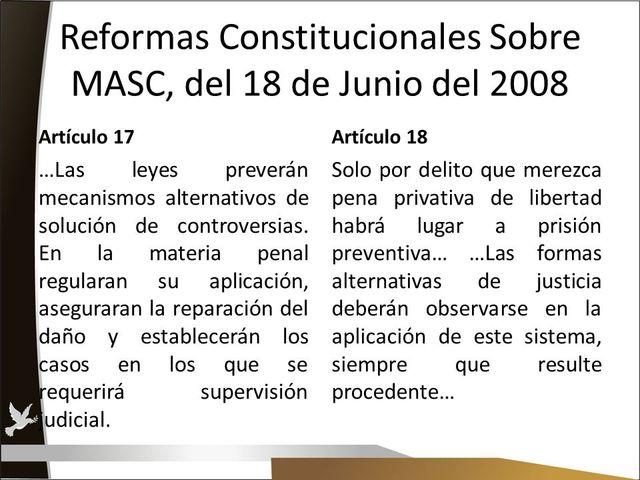 Reformas Federales