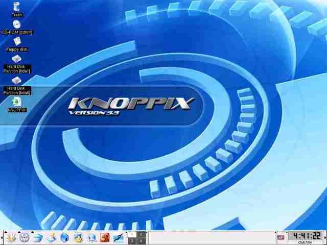 Lanzamiento de KNOPPIX