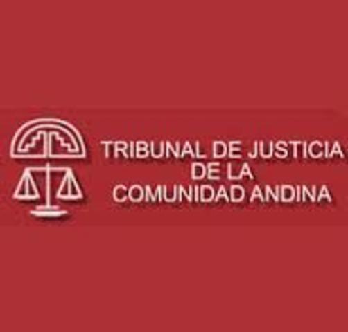 Suscripción del Tratado de Creación del Tribunal de Justicia.