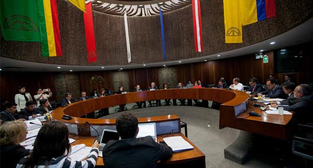 Creación del Consejo Andino de Ministros de Relaciones Exteriores.
