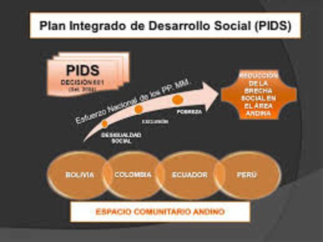 Aprobación del Plan Integrado de Desarrollo Social (PIDS) para impulsar el desarrollo social y afrontar comunitariamente la pobreza, exclusión y desigualdad social en la subregión.