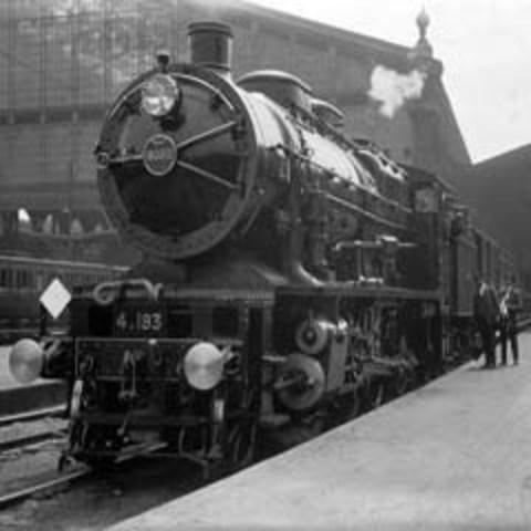 Invención de la locomotora
