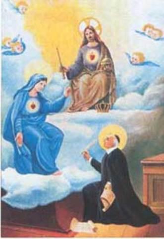 SAN JUAN EUDES PRIMERA CELEBRACIÓN LITÚRGICA DEL CORAZÓN  DE JESÚS .