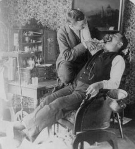 First Electric Dental Drill