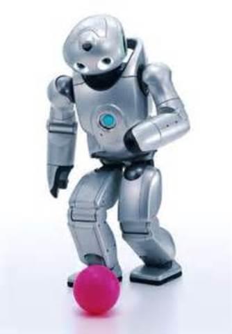Aquel robot humanoide de SONY, Qrio, se convierte en el primer humanoide.