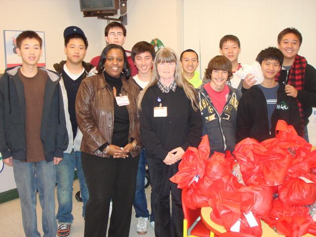 Present Distribution to Methodist and Huntington Hospital
