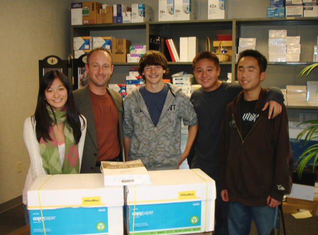 CUTE! Donates More Than 10,000 Sheets of Paper to AHS