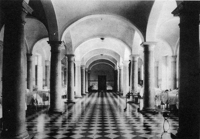 Edificación del hospital de inocentes de Valencia
