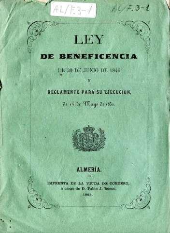 Ley de Beneficencia
