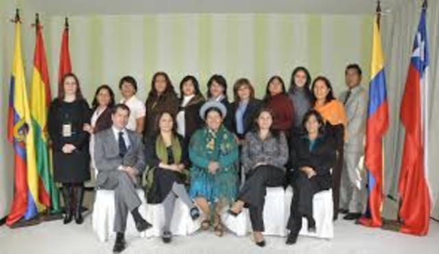 Se aprueba el Programa Regional Andino para la Equidad de Género e Igualdad de Oportunidades entre hombres y mujeres.