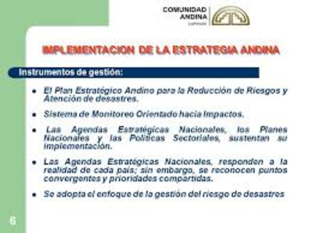 Se aprueba el Plan de Implementación de la Agenda Estratégica Andina.