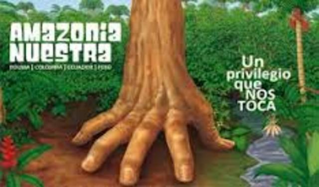 """Ministros de Medio Ambiente de países de la CAN ponen en marcha campaña """"Amazonía Nuestra"""" sobre importancia estratégica de la Amazonía."""