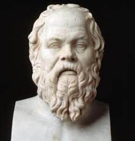 Socrates (Atenas 470 a.C 399 a.C)