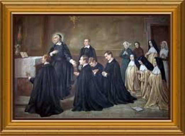 San Juan Eudes Ingresa al Oratorio