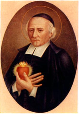 San Juan Eudes es Sacerdote por imposición de manos