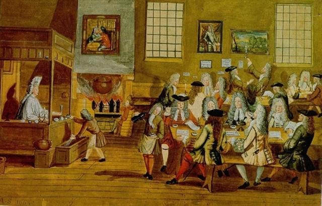 First Western European Coffehouse Established