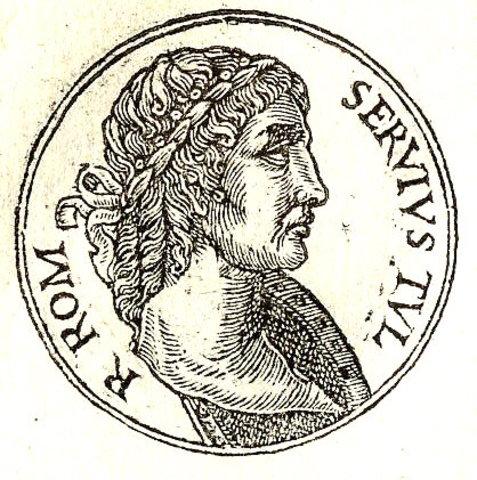 Servius Tulius rei de Roma