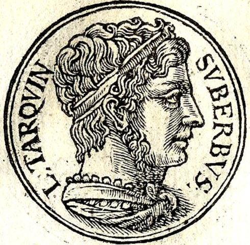 Tarquinus Superbus rei de Roma